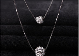 Wholesale Solid Platinum Necklace - Summer women solid Imitation platinum heart pendant Multi layer necklace hollow round alloy accessory Tassels chain fashion necklaces