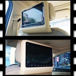 Wholesale Car Tv Remotes - Universal 9 inch car dvd player clip-on headrest support MP4 DVD VCD CD MP3 wireless games remote control