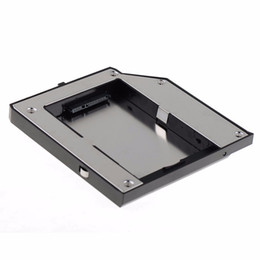 Wholesale Caddy Adapter Bay - Wholesale- Second SATA Hard Drive Adapter Bay Caddy Fit For LENOVO Thinkpad T420 T520 W520 VCN66 T79