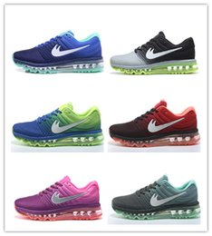 Wholesale Online Womens Sneakers - free shipping original quality max 2017 mens womens running shoes sneakers, cheap athletic 2017 max walking trainers shoes online