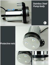 Wholesale 24v Dc Brushless Water Pump - DC 12 24v Mini Brushless Stainless Steel Water Pump
