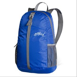 Wholesale Wholesale Brown Rice - Wholesale- AONIJIE Mens Womens Relief Outdoor Sports Backpack Foldable Nylon Lightweight Hiking Bag Camping Mountaineering Gym Fitness Rice