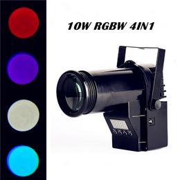 Wholesale Mini Luces - Wholesale-MiNi Laser Projector 10W RGBW 4in1 Led Pinspot Spotlights Disco Spot DMX Luces Discotic Beam DJ Stage Party Show Light