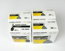 Wholesale D1s 35w Bulb - 2pcs HID D1S D2S D3S D4S Bulbs xenon headlight bulb 4300K 6000K 8000K 10000K D4 D4R 100% Replace headlamp lights car-styling 35W