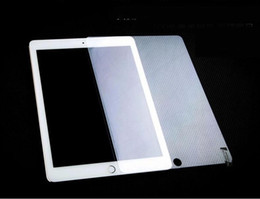 Wholesale Tablet Pc Screen Protector Film - 0.4mm 9H Tempered Glass Screen Protector Anti Shatter Explosion Tablet PC Guard for ipad 2 3 4 5 6 air 2 mini