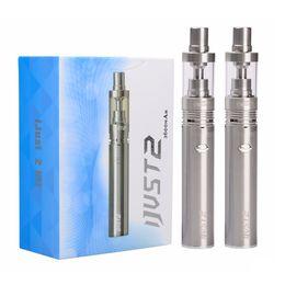 Wholesale Ec Pen - Eleaf iJust 2 kit 2600mAh Battery 0.3ohm EC Coils Tank 30W-80W iSmoka iJust 2 full kit Eleaf vape pen E cigarette kit