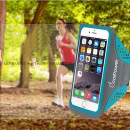 Wholesale Armband Cell Phone Covers - Professional Waterproof Sport Armband Arm Band Case For iPhone 7 6 6S 7 Plus Warkout Running Gym Cell Phone Accessories Cover Bags Handbags