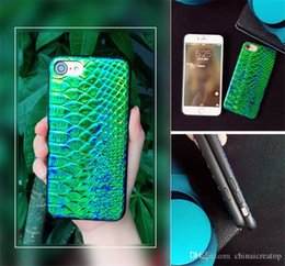 Wholesale Mint Green Coat - Colorful Kylin Phone Case For Iphone6 S Plus Double Coat Paint Ultra Slim Phone Case Cover Premium TPU+PC