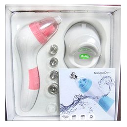 Wholesale Microdermabrasion Wholesale Machines - HOT NuAquaDerm Beauty Instrument diamond personal microderm system beauty device facial machine Microdermabrasion skin care tools