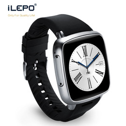 Wholesale Ips System - GSM CDMA mobile phone Watch Z01 with android system IPS touch 2.5D screen HD display 5MP camera smart watch for men