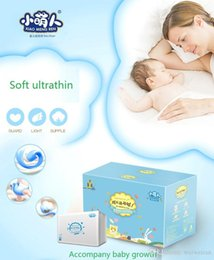 Wholesale Diaper Paper - XIAO MENG REN L84 thin breathable Baby Diaper Baby baby diapers and diaper wet in spring and summer paper diaper