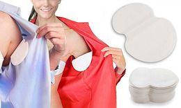 Wholesale disposable underarm armpit sweat pads - Summer Deodorants Cotton Pads Underarm Armpit Sweat Pads Dress Disposable Stop Sweat Guard Absorbing 200X ( 100 Pairs )