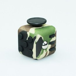 Wholesale Pattern Puzzles - Fidget Cube Toys For Puzzles & Magic Pattern Gift Camouflage Antistress Creative Toy Decompression Wisdom Anxiety Novelty Stress Relief