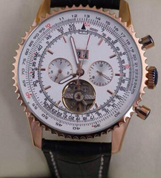 Wholesale Swiss Automatic Movement Chronograph - NEW MENS Promotion Price Famous Swiss Brand Quartz Movement White Dial Leather Belt Chronograph Men's Watches Bently Man Sport Watches