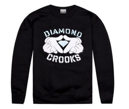 Wholesale Red Diamond Loose - 2017 hiphop spring and autumn winter crooks and diamond leisure men and women clothing long sleeve set of head guard hoodies plus size