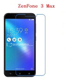 Wholesale tempered glass for zenfone - Tempered Glass For ASUS ZenFone 3 Max ZC553KL phone film Phone Protective Phone film touch screen protector free shipping