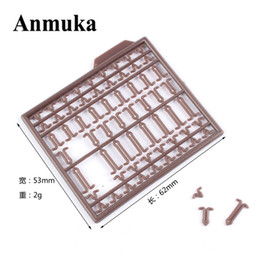 Wholesale Wholesale Carp Fishing Tackle - Wholesale- Anmuka 10Pcs lot Durable Lightweight Hair Rig Boilie Stop Bait Carp Fishing Tackle Accessory Brown drill stops Boilie v stopper