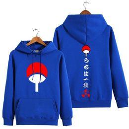 Wholesale Naruto Sasuke Hoodie - Wholesale- High-Q Unisex cotton NARUTO Uchiha Madara Sasuke Hoodies coat jacket NARUTO Uchiha Izuna Itachi Cardigan Hoodies jacket coat
