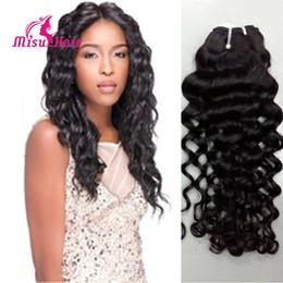 Wholesale Real Raw - Raw Unprocesse Virgin Indian Hair Weaving Indian Virgin Hair Italian Curl 4 Bundles Indian Curly Weft Real Remy Human Hair Weave