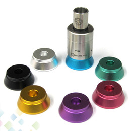 Wholesale Dhl Base - Best Aluminum Base Metal Holder Clearomizer Base Atomizer Stand Suit for 510 Clearomizer high quality DHL Free