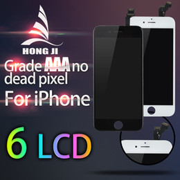 Wholesale Cell Phones Parts Wholesale - Front Assembly LCD Display Touch Screen LCD Touch Panels Replacement Part Cell Phone LCD Screens For iPhone 5s 6 6 plus 6s plus