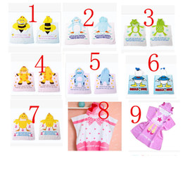 Wholesale Children Bath Robe Towel - 2017 new children bath towel bathrobe baby bath fashion children's bathrobe children's cloak bath towel