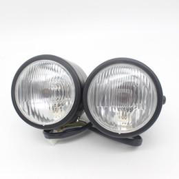 Wholesale Motor Xenon - Dongzhen Universal 8.5 inch Motorcycle LED Driving Light Motor Headlight LED Fog External Light Source Xenon Motorcycle Parts