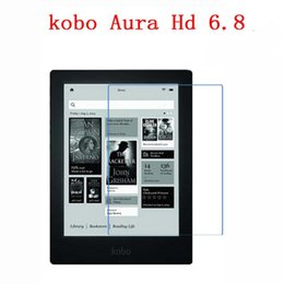 Wholesale Tablet Protective Screen Film - Wholesale- Clear Screen Protector Film Anti-Fingerprint Soft Protective Film For Kobo Aura HD LCD 6.8 inch Tablet