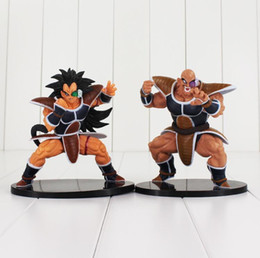 2020 figurine raditz 2 Style Dragon Ball Z Super Saiyan Nappa Raditz Anime dragonball PVC Action Figure Collectible Toy promotion figurine raditz