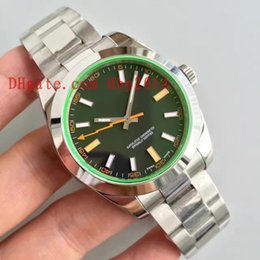 Wholesale Sapphire Crystal Automatic - Luxury brands 116400 41MM black Mens Automatic DATEJUST Mechanical watches for Male Fashion Hot sale Green sapphire crystal AAA wristwatches