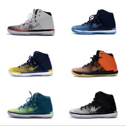 Wholesale Carbon Fiber Gold - 2017 New Wholesale 31 XXX1 Men's Basketball Shoes Top Quality With Carbon Fiber Airs 31s XXXI Sports Sneakers Boots US 7-12