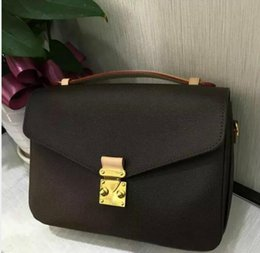 Wholesale Appliques Letters Mini - AAAA new 2017 shoulder bag 100% leather NEW PALM elastic handbag MINI handbag small new PALM spring messenger bag shoulder bag
