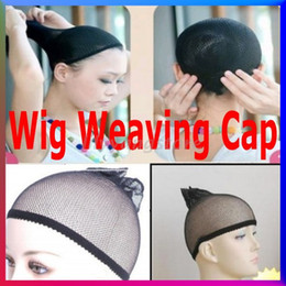 Wholesale Black Mesh Stockings - 10pcsUnisex Women Men Stocking Hairnets Hair Wig Caps Liner Cap Snood Nylon Stretch Mesh Black Brown