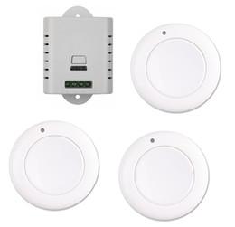 Wholesale wireless remote wall light switch - Wholesale- 1CH RF wireless light remote control switch 85V 110V 120V 220V 250V 1* receiver+3* wall round transmitter