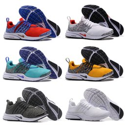 Wholesale Presto Running Woman - 2018 TOP Air PRESTO BR QS Breathe Black White Mens Basketball Shoes Sneakers Women Running Shoes Hot Men Sports Shoe,Walking designer shoes