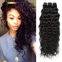 Wholesale Hair Products Girls - Wholesale-BFF Girl Hair Products Cambodian Virgin Hair Natural Wave Wholesale Cambodian Water Wave Human Hair Weave UK