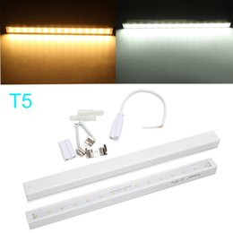Wholesale Led T5 Bar - T5 28CM 3W White Warm White LED Bar Light Rigid LED Strip Tube Light AC 220V SMD 2835