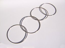 Wholesale Chinese Magic Trick Wholesalers - Factory price Chinese Linking Rings 4 Rings Metal Magic Props Tricks China with Instructions Party Festival show as gift with instruction