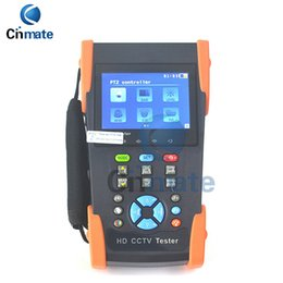 Wholesale Tester Video - 3.5 inch LCD Coaxial HD Video Monitor Tester CCTV Tester Support AHD HD-CVI HD-TVI PTZ Control, Ping Test,HD-2800ADH
