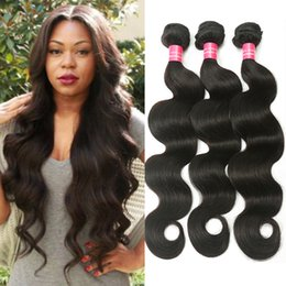Wholesale Cheap Queen Brazilian Hair - Rainbow Queen Hair Brazilian Virgin Hair Body Wave Nature Color 100% Human Hair Bundles cheap brazilian Body Wave Bundles Free Shipping