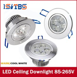 Wholesale Wholesale Ceiling Lamps - Downlights 9W 12W 15W AC85V-265V LED Ceiling Downlight Recessed LED Wall lamp Spot light With LED Driver For Home Lighting