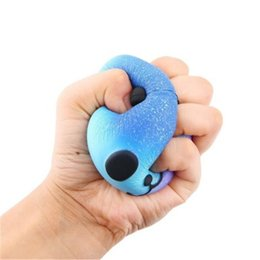 Wholesale Fun Favor - 2017 DHL Free Cute PU Squishy Super Slow Rising Jumbo Panda Squishy Squeeze Phone Strap Kids Fun Toy Gift Decompression Toy