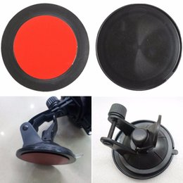 Wholesale Gps Mount Adhesive - Wholesale-2Pcs 80mm Adhesive Sticky Sucker Dashboard Suction Cup Disc Disk Pad For Car GPS Phone Holder Mount