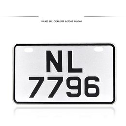 Wholesale Japan Wall Painting - foreign japanese license plates motorcycle vespa iron painting wall sticker SCOOTER japan bicycle number plates metal hangings DECORATION