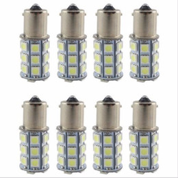Wholesale 27 Smd - 20X Super White 27 SMD RV Camper Trailer LED 1156 1141 1003 Interior Light Bulbs free shipping