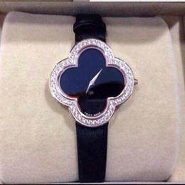 Wholesale Gold Women Quartz Watch Acrylic - 2016 Brand New vintage Ladies watches Luxury rose Gold Quartz dress Wristwatches Women Rhinestone Watches Relojes Mujer Montre Femme