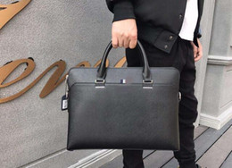 Wholesale Special Dressed - Briefcases Hand Casual Business Men Bag Black Special Leather Size 24 * 16 * 8 Free Shipping Casual