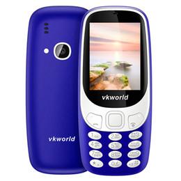 Wholesale Large Screen Radio - VKworld Z3310 Elder Phone 3D Screen 2.4 inch 1450mAh 2.0MP GSM 2G Mobile Phone Dual SIM FM Torch Bluetooth Large Buttom Older Phone