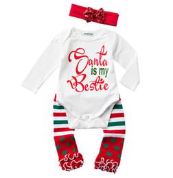 21c0b52283f4 girl legging summer set Coupons - Newborn Baby Christmas 3pcs Baby Xmas  Clothing Set Baby Girls