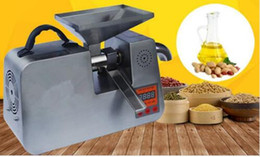 Wholesale Cold Oil Press - Small Automatic Cold and Heat Oil Press Machine Intelligent Oil Press Household